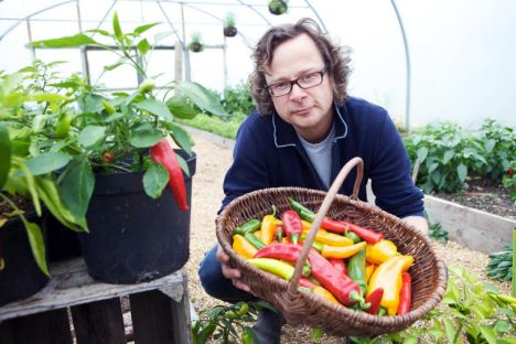 Influential: Hugh Fearnley-Whittingstall at River Cottage HQ in Dorset