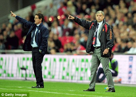 Unlucky: Zlatko Kranjcar (right) was sacked by Montengro after defeat in Wales