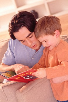 Tips: Reading to a child is one of the 'five-a-day' pledges the think-tank says will make you a better parent
