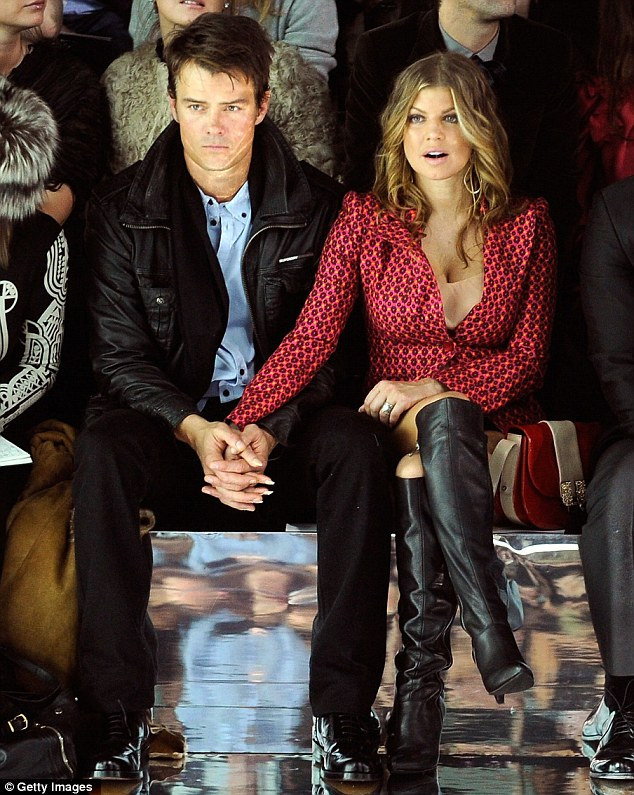 Family people: Fergie and Josh have been married since 2009 and would like to have a baby soon