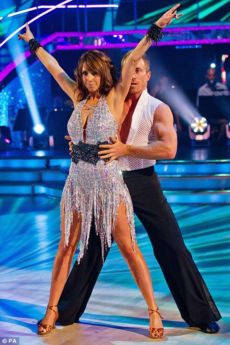 Toning it down: Alex Jones and her partner James Jordan were asked by BBC bosses to cut out the raunch from the their pre-watershed Strictly Come Dancing routune