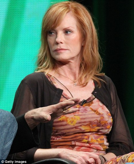 Leaving: CSI star Marg Helgenberger announced she is leaving the hit series during a press conference today