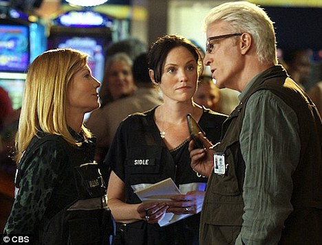 New cast member: The first photo of Ted Danson as lead investigator D.B. Russell on the hit series