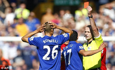 'Wrong call': Tim Howard was furious at the decision