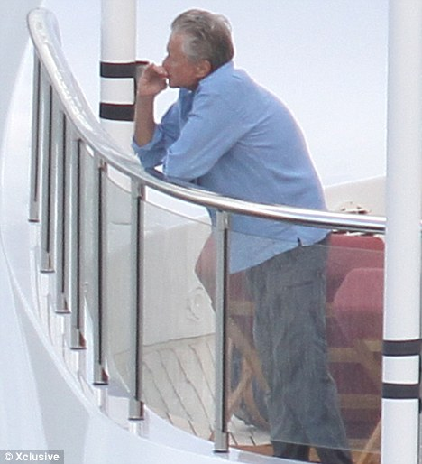 Ungrateful? Michael Douglas has made a miraculous recovery from throat cancer - his doctors won't be happy to know he's since been pictured smoking