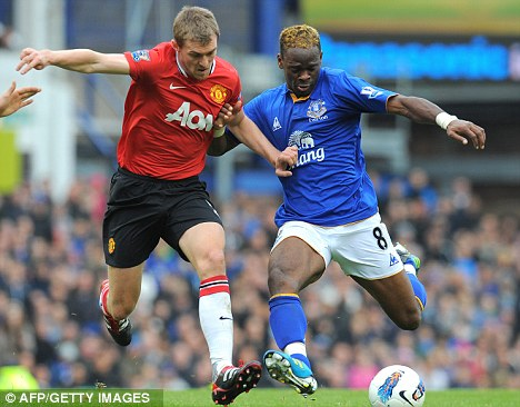 Stuck in: Fletcher has played a central role in United's first team plans recently