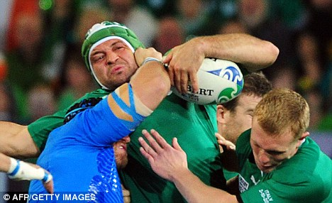 Biding their time: Ireland haven't named a replacement yet