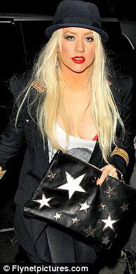 Christina Aguilera  was hacked