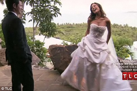 Estranged: TLC network aired Nick & Vanessa's Dream Wedding in the U.S. over the weekend, however her mother was not invited to the small ceremony