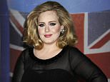 "Singer Adele arrives for the Brit Awards 2012 at the O2 Arena in London.  Four years after her last album, the singer appears to have teased British television viewers with a snippet of new music, broadcast during an ad break on prime-time TV. The 30-second ad shown Sunday evening, Oct. 18, 2015, during TV talent show ""The X Factor"" featured Adele's distinctive tones over a black screen on which heartache-filled lyrics appeared.      FILE - In this Feb. 21, 2012 file photo (AP Photo/Jonathan Short, File)"