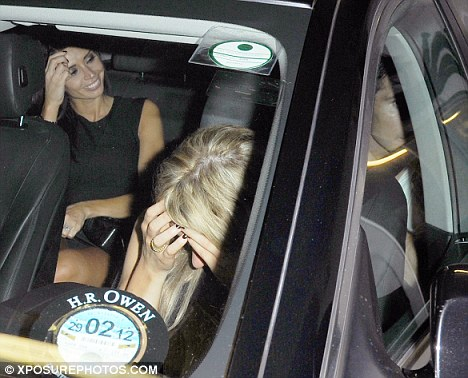 Nice to be out so late, Christine? The Daybreak presenter, who is on a week off, looked like she was ready to carry on the party as she got into a car with a fellow WAG and Lampard in the back next to her