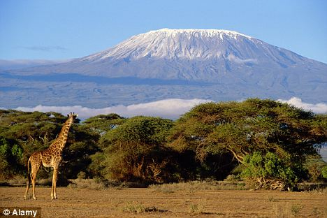 Mount Kilimanjaro in Tanzania is a popular destination for intrepid middle-aged adventurers