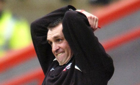 Fast mover: Martin Allen left Barnet for Notts County after just three games