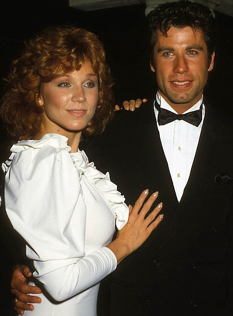 Total recall: Marilu Henner pictured with John Travolta in 1983