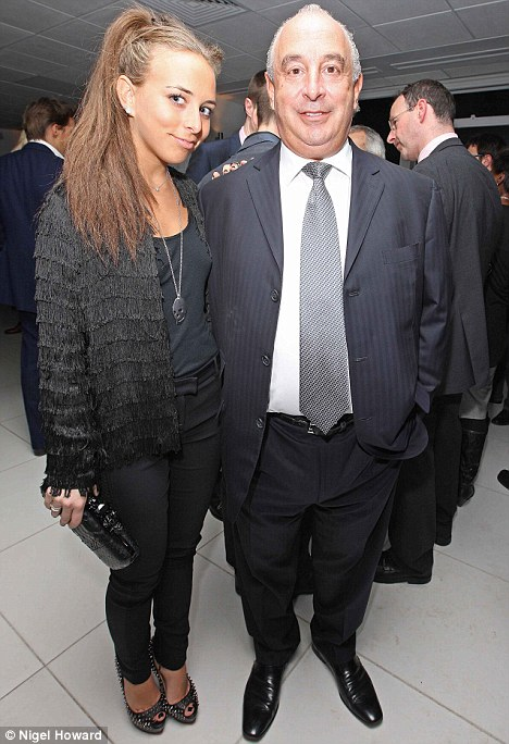 Approval: Chloe's father Phillip is supporting his daughter's move