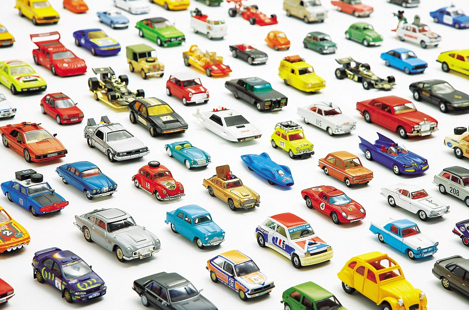 Many of the rarest models date back to the Sixties, when Corgi Toys was in its heyday
