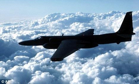 Replaced: A U.S. Air Force U-2 spy plane takes to the skies in 2005 but the crafts could soon be retired