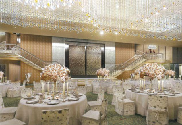 billion-dollar pad ballroom