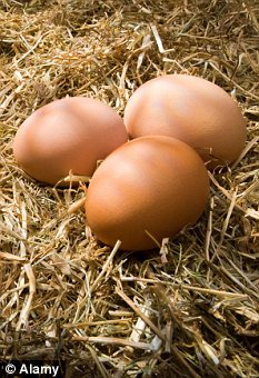 Food poisoning: Most people catch salmonella by eating infected chicken, eggs or red meat