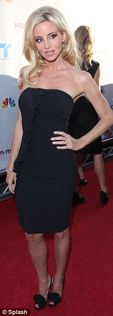 No first lady: Kelsey Grammer's ex wife Camille will not be giving him her support