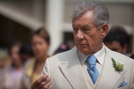 Gangster: Sir Ian McKellen is playing a Neapolitan mafia don at the Minerva Theatre in Chichester