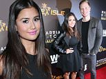 "LOS ANGELES, CA - NOVEMBER 19:  TV personalities Catherine Giudici (L) and Sean Lowe attend the WE tv premiere of ""Marriage Boot Camp"" Reality Stars and ""Ex-isled"" on November 19, 2015 in Los Angeles, California.  (Photo by Jonathan Leibson/Getty Images for WE tv)"