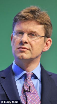 Different sort of fish: The relaxation on building controls in the Green Belt is down to Planning Minister Greg Clark