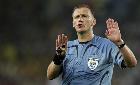 International call: Graham Poll refereed at the 2006 World Cup in Germany