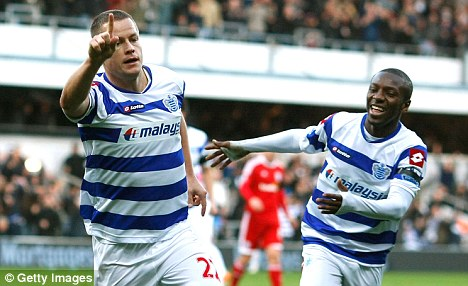 On a roll: QPR played well against West Brom despite being held to a draw