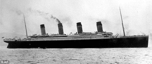 Titanic: The huge ship sank on April 15 1912, killing more than 1,500 passengers