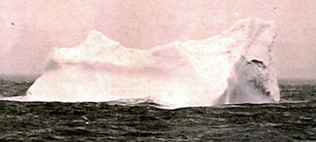 Obstacle: This is believed to be the iceberg which sank the supposedly indestructible Titanic