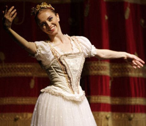 Mariafrancesca Garritano has risked the wrath of theatre chiefs by blowing the lid on the dark secrets of the ballet world
