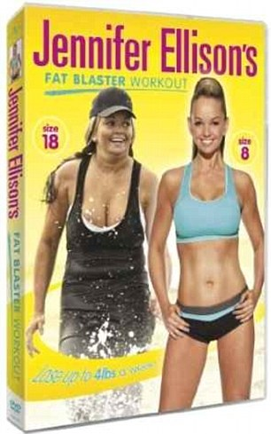 Jennifer Ellison's Fat Blaster Workout goes on sale on December 26