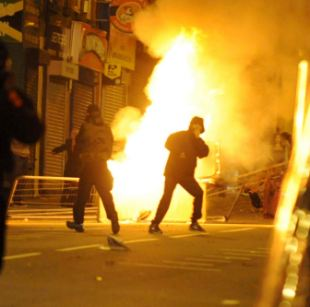 City by city the violence erupted: Liverpool