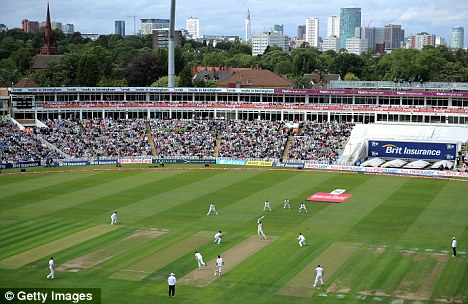 Glorious setting for an almost perfect day: Edgbaston witnessed a brilliant England display