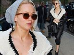 Mandatory Credit: Photo by Startraks Photo/REX Shutterstock (5411940a)\n Jennifer Lawrence\n Jennifer Lawrence out and about, New York, America - 20 Nov 2015\n Jennifer Lawrence Spotted at Her Hotel in Soho\n
