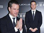 Mandatory Credit: Photo by Imaginechina/REX Shutterstock (5407518c)\n Matt Damon\n 'The Martian' film premiere, Beijing, China - 20 Nov 2015\n \n