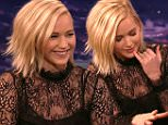 Conan November 19, 2015\nActor Jennifer Lawrence as well as comics Ron Funches and Ian Kaarmel visit with Conan.