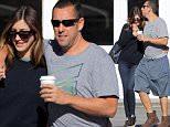 Picture Shows: Jackie Sandler, Adam Sandler  November 19, 2015\n \n Adam Sandler enjoys breakfast with his wife Jackie Sandler in Brentwood, California. \n \n The 'Pixels' star had his arm around his wife's shoulder as they headed to their car.\n \n Exclusive - All Round\n UK RIGHTS ONLY\n \n Pictures by : FameFlynet UK © 2015\n Tel : +44 (0)20 3551 5049\n Email : info@fameflynet.uk.com