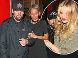 West Hollywood, CA- Nicole Richie, Joel Madden, Cameron Diaz, Benji Madden and Jessy J were seen leaving Troubador after Good Charlotte concert. CREDIT MUST READ: MACIEL/AKM-GSI AKM-GSI       November 20, 2015 To License These Photos, Please Contact : Steve Ginsburg (310) 505-8447 (323) 423-9397 steve@akmgsi.com or Maria Buda (917) 242-1505 mbuda@akmgsi.com