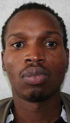 Manhunt: Bongani Moyo, one of the most wanted suspected criminals in South Africa, has gone on the run for the second time this year after walking out of court