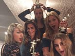 """1h cindycrawfordThanks for the @MTV #MoonMan @TaylorSwift! Think this guy is going to love his new home in Malibu...??"""" #headmistress #badblood"""