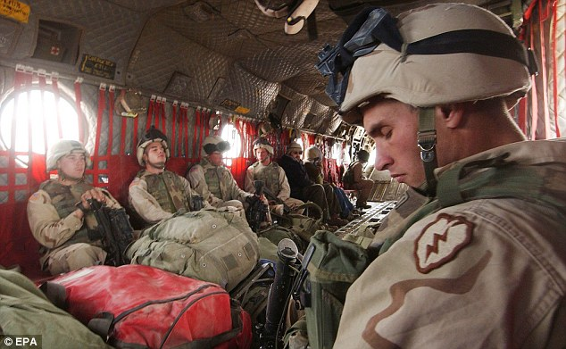 Vulnerable: Slow-moving transporter craft like the Chinook face massive risks in eastern Afghanistan