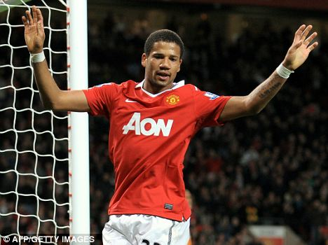 Shock move: but Bebe failed to make an impact at United