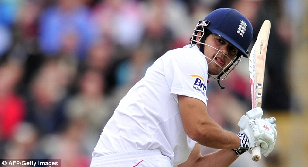 Second fiddle: But Cook has already surpassed his previous best score of the series