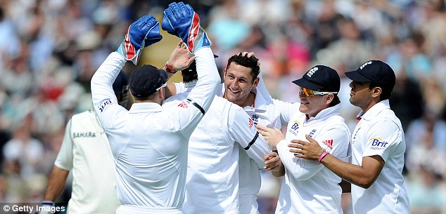 Perfect start: England ripped through India's top order on day one