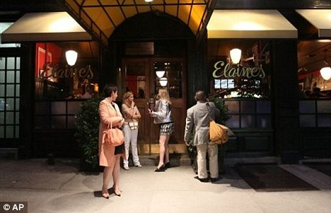Popular: Elaine's was a famous go-to place in Manhattan for celebrities and non celebrities alike. It closed in May