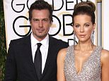 Mandatory Credit: Photo by Jim Smeal/BEI (4375571bq)  Len Wiseman and Kate Beckinsale  72nd Annual Golden Globe Awards, Arrivals, Los Angeles, America - 11 Jan 2015