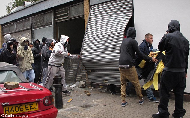 Mr Gove said it was 'ludicrous' to blame Government cuts for the riots, a point that Labour leader Ed Miliband agreed with
