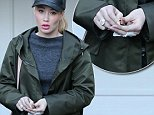 Beverly Hills, CA - Iggy Azalea is getting her A$AP Rocky finger tattoos removed at Epione Salon a lesson learned to not get relationship tattoos. \n  \nAKM-GSI       November 20, 2015\nTo License These Photos, Please Contact :\nSteve Ginsburg\n(310) 505-8447\n(323) 423-9397\nsteve@akmgsi.com\nsales@akmgsi.com\nor\nMaria Buda\n(917) 242-1505\nmbuda@akmgsi.com\nginsburgspalyinc@gmail.com